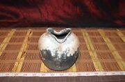 """Vintage Handmade Pottery Vase Handcrafted Clay Art Pottery 4 3/4""""x4 1/2"""""""