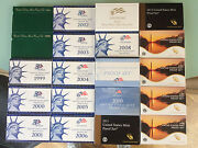 1994-1995 And 1999-2016 Us Mint Proof Set W/state Quarters And Pres. 234 Coins