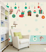 3d Christmas Socks Gifts Wall Paper Wall Print Decal Wall Deco Indoor Wall Mural