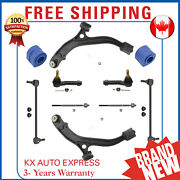10x Front Suspension And Steering Kit For Dodge Grand Caravan 2001 2002 2003 2004