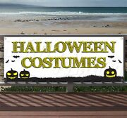 Halloween Costumes 6 Advertising Vinyl Banner Flag Sign - Many Sizes Available