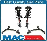 For 03-08 Fx35 Fx45 Awd F Coil Spring Struts Control Arms Ball Joints Bushing 4p