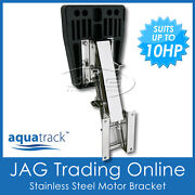 Stainless Steel Outboard Auxiliary Motor Bracket Up To 10hp / 32kg - Marine/boat