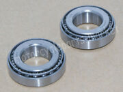 Neck Tapered Roller Bearing Set Cup L44610 Cone L44643 For Harley Dyna Breakout