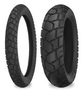 Shinko 90/90-21 And 120/80-18 705 Tires Hon Xr250l,crf250l,kaw Klx250s, Suz Dr350s