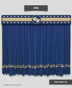 Saaria Stage Decor Movie Home Theater Drape Event Velvet Curtain 20and039w X 8and039h Ht-8