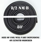 8/2 Nm-b X 80and039 Southwire Romexandreg Electrical Cable
