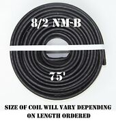8/2 Nm-b X 75and039 Southwire Romexandreg Electrical Cable