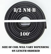 8/2 Nm-b X 100and039 Southwire Romexandreg Electrical Cable