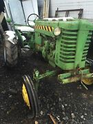 Johndeere 1952 Model M Tractor Deere John Machine Parts Or Fix