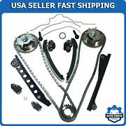 Ford Triton 3-valve Timing Chain Kit W Tensioner Guide Cover Gaskets Cam Phaser