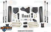 Bds Suspension 546h 4 Lift Kit For 2008-2010 Ford F-250/f-350 Super Duty 4wd