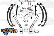 Bds Suspension 411h 4.5 Lift Kit For 1987-1995 Jeep Wrangler Yj 2wd/4wd Gas