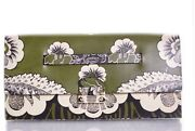 New Valentino Super Rare Green Shade Clutch Ss2015 Collection - Msrp 3995.00