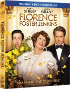 Florence Foster Jenkins [new Blu-ray] With Dvd Widescreen 2 Pack Ac-3/dolby