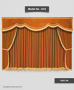Saaria Home Theater Curtains Stage Movie Hall Event Decor Drapes 20and039w X 12and039h Ht4