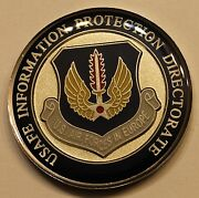 Usafe Information Protection Directorate Armor Of God Air Force Challenge Coin