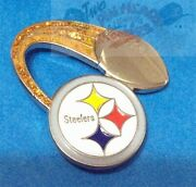 Pittsburgh Steelers Nfl Logo - Glitter Trail Football Collector Pin