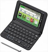 Casio Ex-word English Electronic Dictionary Xd-y4800bk Black Learn Japanese
