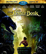 Disney Live Action 2016 The Jungle Book Blu-ray Dvd Digital Copy And Slipcover