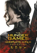 The Hunger Games Complete 4-film Collection [new Dvd] Boxed Set, Dolb