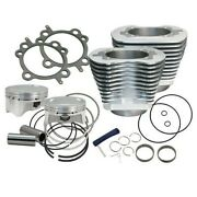 Sands Cycle 4 Sidewinder 100 Big Bore Kit And03999-and03906 Hdandacircandreg Big Twin Cam Silver