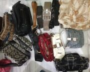 Sale Women Handbags And Belts Coach Aigner Etc. Bundle And Save- Used