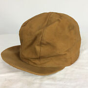 Very Old Rare Antique Vintage Duxbak Canvas Insulated Hunting Fishing Hat Cap