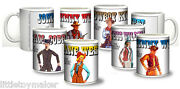 Ceramic Mugs Featuring Marx Best Of The West Action Figures