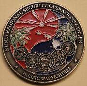 Kunia Regional Security Operations Center Krsoc Commander Challenge Coin / Nsa