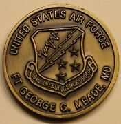 Ft Meade Nsa Headquarters 694th Intelligence Group Air Force Challenge Coin