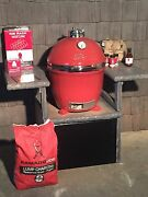 New Custom Outdoor Kitchen Grill Stand Table For Kamado Joe Or Green Egg Grills