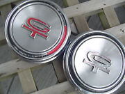Ford Mustang Gt Hubcaps Wheelcovers Center Caps Antique Vintage Rally Wheel