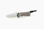 Chris Reeve Knives Small Inkosi S35vn Drop Point Natural Canvas Micarta Sin-1014
