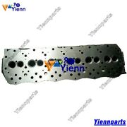 6d16 6d16t Cylinder Head For Mitsubishi Engine Kato Hd1023 Hd1430 Excacvator