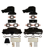 Mercury Marine Manifold Exhaust Kit For V-8 Dry Joint 5.0/5.7-l With 14° Riser And
