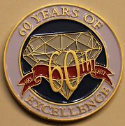 National Security Agency Nsa 60th Anniversary Military Challenge Coin