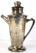 Hammered 14 Cocktail Recipes Art Deco Shaker/pitcher