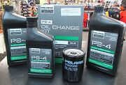 Polaris Ps-4 Oil Change Kit 2879323 Ranger/rzr 900/1000 Free Usps Priority Ship
