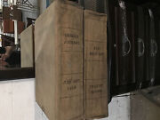 1913 Oregon State Journal Newspapers 2 Large Heavy Bound  Apr-jun July-sept