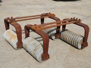 Vintage Hershey Chocolate Conche Roller Cast Iron And Granite Legs Table Base