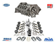 Unassembled Forged Short Block Kit Chevrolet 427 W Dart Block And Mahle 101 Pist