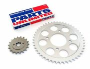 Parts Unlimited Chain And Front Rear Sprocket Kit - 1971-1976 Honda Cb750k Cb750