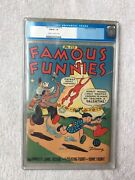 Famous Funnies 115 Eastern Color Feb 1944 Cgc 7.0 Golden Age Cm To Off-wht Pgs