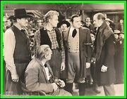 Nelson Eddy, Edward Arnold And Lionel Barrymore In Let Freedom Ring Origin. 1939