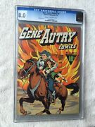 Gene Autry Comics 4 Cgc 8.0 Jan 1943 A 68 Page Classic And Free Color Photocopy