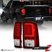 [factory Red] For 09-18 Dodge Ram 1500 2500 3500 Neon Tube Led Tail Lights Set