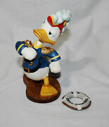 Disney Donald Duck Admiral Duck Sea Scouts Figurine With Life Ring Nib