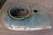 Vintage Antique Scott Atwater Outboard Motor Engine 7.5 Hp Fuel Gas Tank 1940's