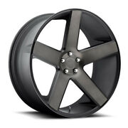 Dub Baller S116 28x10 6x139.7 Offset 31 Matte Black And Machined Quantity Of 1